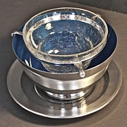 Reed and Barton Caviar/Seafood Cocktail Server c. 1950's