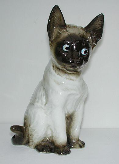 To die for: 50s Siamese cat nightlight/ perfume lamp
