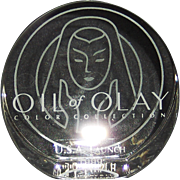 Tiffany & Co. Paperweight Oil of Olay Color Collection USA Launch 1999