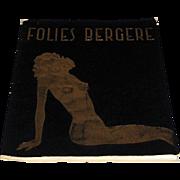 Folies Bergere Program/Brochure, Producer Paul Derval