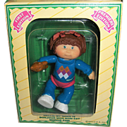 Cabbage Patch Kids First Edition Poseable Figure MARCIE PAM  c1984 MIB