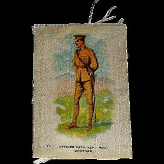 Vintage Tobacco/Cigarette Silk #25 Canadian Military