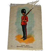 Vintage Tobacco/Cigarette Silk #17 Canadian Military