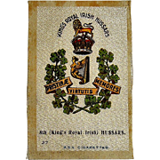 Vintage B.O.V. Cigarettes Silk 8th Hussars