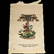 Vintage Tobacco/Cigarette  Silk # 42 Medal or Medallion