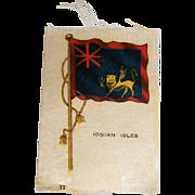 Vintage Tobacco/Cigarette Silk #32 Flag