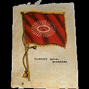 Vintage Tobacco/Cigarette Silk #5 Flag