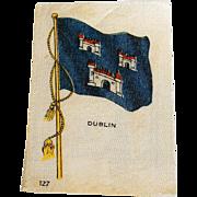Vintage Tobacco/Cigarette Silk #127 Flag