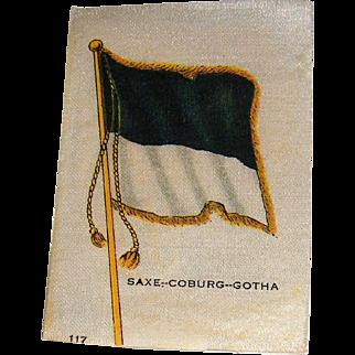 Vintage Tobacco/Cigarette Silk #117 Flag