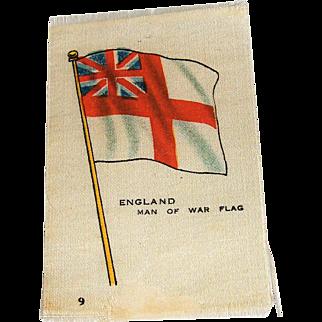 Vintage Tobacco/Cigarette Silk #9 Flag
