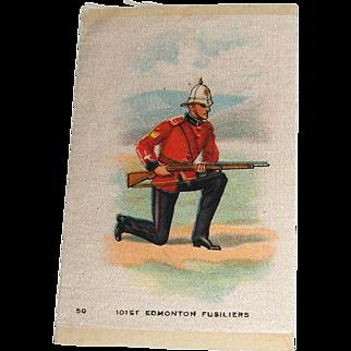 Vintage Tobacco/Cigarette Silk #50 Canadian Military