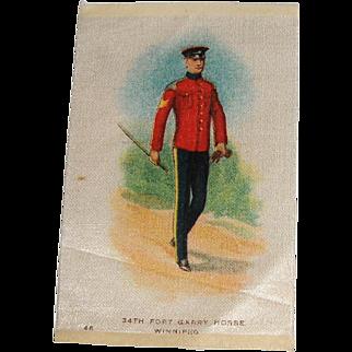 Vintage Tobacco/Cigarette Silk #46 Canadian Military