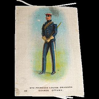 Vintage Tobacco/Cigarette Silk #39 Canadian Military