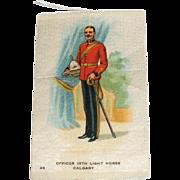 Vintage Tobacco/Cigarette Silk #48 Canadian Military