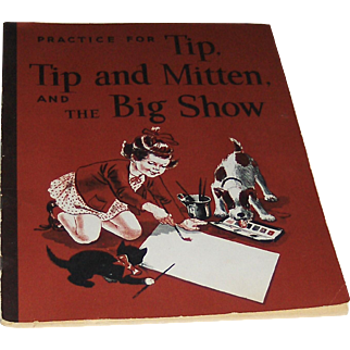 1949 Reading Aid Tip, Tip and Mitten and The Big Show