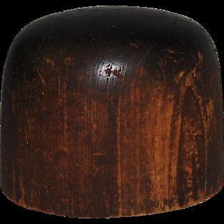 Hoff-Man Wooden Hat Block Millinery Mold #1