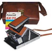 Polaroid SX-70 Land Camera Alpha 1 with Case and Sealed Film - Red Tag Sale Item