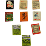 9 Advertising Promotional Educational Match Books