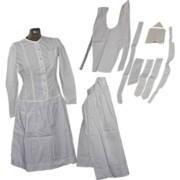 Vintage Nurse Uniform or Costume in Size Small
