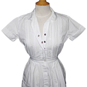 Vintage Nurses Uniform or Costume in Size Small by White Sister Uniforms Inc.