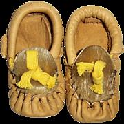 Vintage Infant or Doll Moccasins