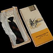 NWT Vintage Arrow Kwik-Klip Tie with Original Box