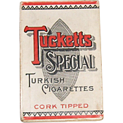 Tucketts Special Turkish Cigarettes Box