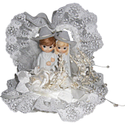 Cowboy and Cowgirl Wedding Cake Topper