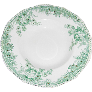 """Alfred Meakin Shallow Soup or Stew Bowl 'ROSELLE"""" Pattern"""