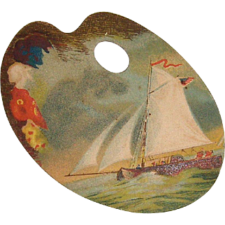 Vintage Trade Card The Great Atlantic and Pacific Tea Co.