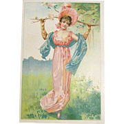 Vintage Trade Card For Malto-Peptin Bread by Smith, Collins & Co.
