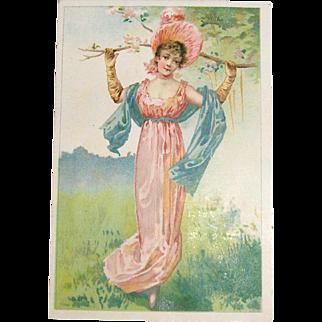 Vintage Trade Card For Malto-Peptin Bread by Smith, Collins & Co.