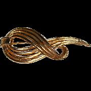 Marboux Ribbon Pin Brooch