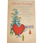 Vintage Valentine Post Card