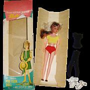 "'RUSTY' a 9"" Davtex Pre-Teen Doll in Original Box"