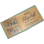 Vintage Baby's Pal SLEEP SAFE Baby Harness MIB