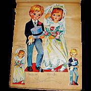 Child's Scrapbook Cutouts, Cartoon Drawings, Mag. Clippings