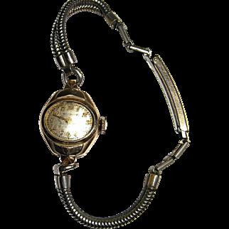 Vintage Bulova Quality Parts Wristwatch