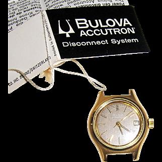 Ladies Bulova Accutron Parts Watch