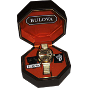 Bulova Centennial 1975 Man's Set-O-Matic Wristwatch