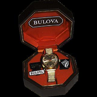 Bulova Centennial 1975 Man's Set-O-Matic Wristwatch
