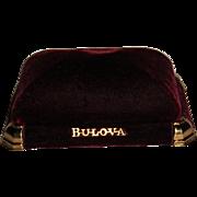 Bulova Velvet Presentation Case