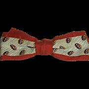 Child's Vintage  Clip-On Bow Tie 'Beau Junior' No.2