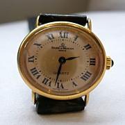 Vintage Baume & Mercier Solid 18ct Quartz Watch
