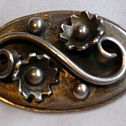 Vintage Birger Haglund Sterling Brooch