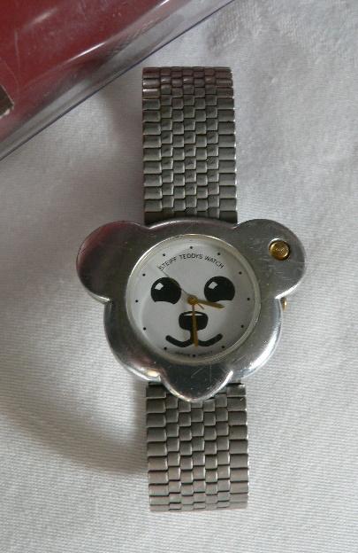 Vintage Steiff Teddy Bear Watch
