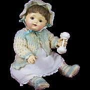"""Life-Size """"Dolly Dumpling"""" by Effanbee"""