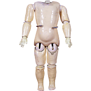 Small Antique Kestner Doll Body