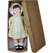 "17"" Early Ideal Composition Doll"