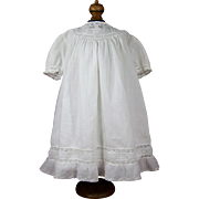 Very Pretty Lawn Dress for Antique Doll